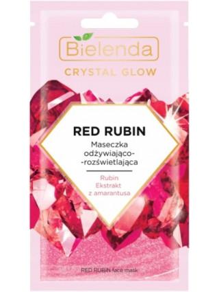 Bielenda Maseczka Crystal Glow Red Rubin - 1
