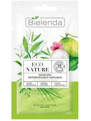 Bielenda Maseczka Detoksykująco-Matująca Eco Nature