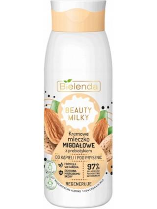 Bielenda Kremowe Mleczko Migdałowe Do Kąpieli Beauty Milky