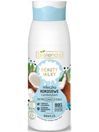 Bielenda Kremowe Mleczko Kokosowe Do Ciała Beauty Milky