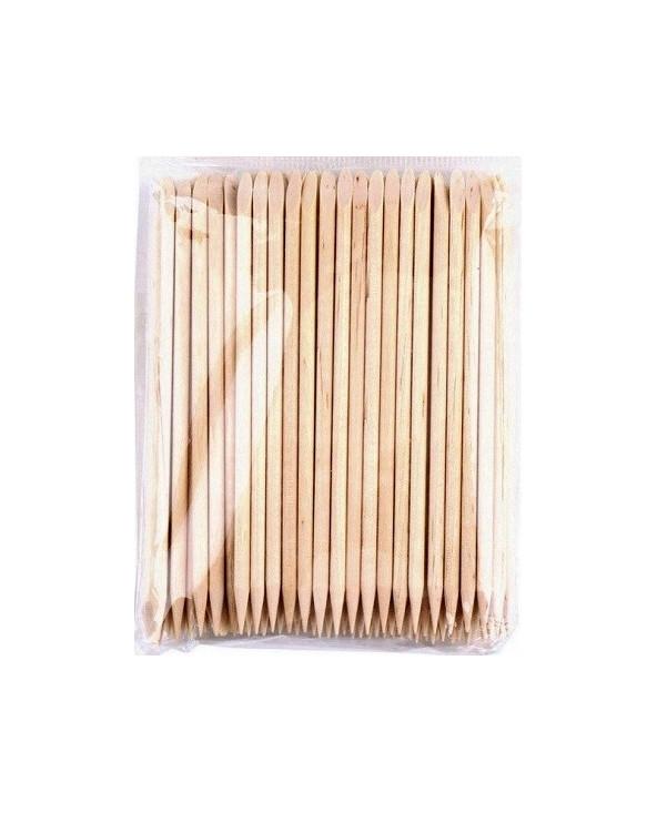 Patyczki Drewniane Do Manicure i Pedicure - 100 Sztuk - 1
