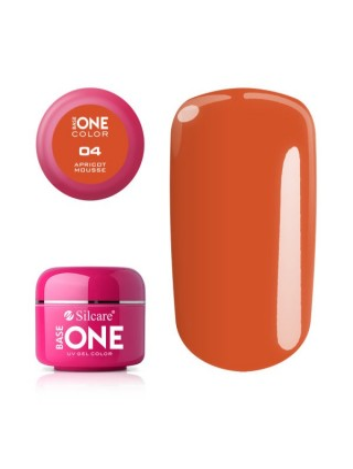 Silcare Żel Budujący Base One Color 04 Apricot Mousse