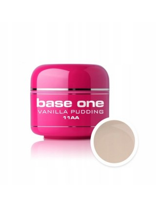 Silcare Żel Budujący Base One Color 11AA Vanilla Pudding
