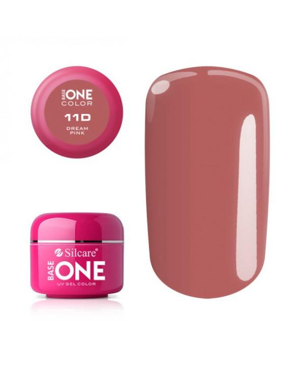 Silcare Żel Budujący Base One Color 11D Dream Pink
