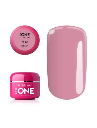 Silcare Żel Budujący Base One Color 12 Sweet Pink
