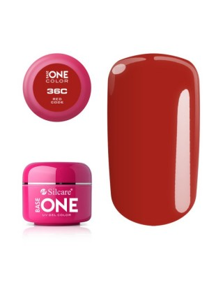 Silcare Żel Budujący Base One Color 36C Red Code