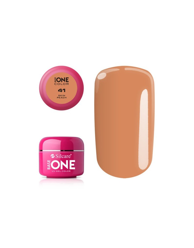 Silcare Base One Color 41 Skin Peach 5g - 1