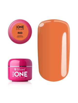 Silcare Żel Budujący Base One Color 50 Magic Orange