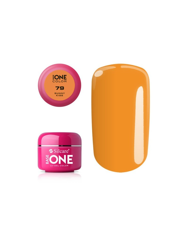 Silcare Base One Color 79 Sunny Kiss 5g - 1