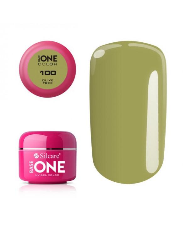 Silcare Żel Budujący Base One Color 100 Olive Tree
