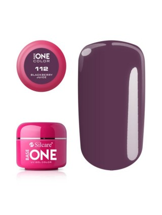 Silcare Żel Budujący Base One Color 112 Blackberry Juice