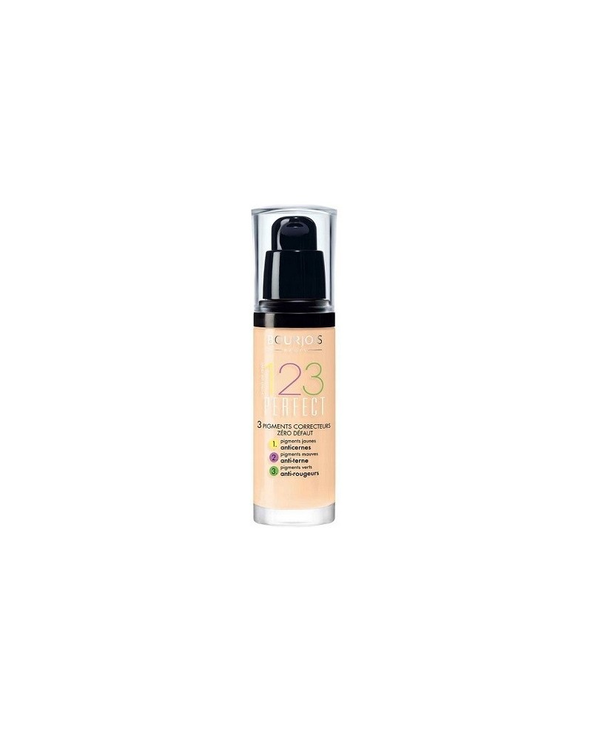 Bourjois Podkład 123 Perfect 51 Light Vanilla - 1