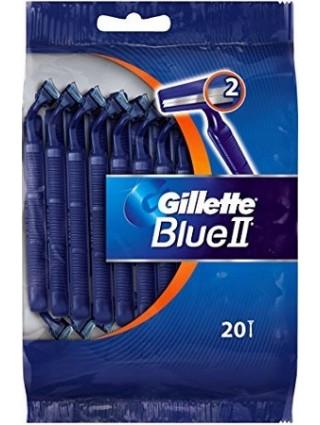 Gillette Blue II Maszynki - 20 Sztuk