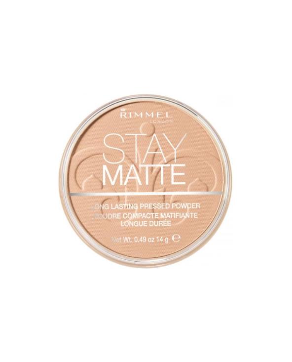 Rimmel Puder Stay Matte 010 Warm Honey - 1